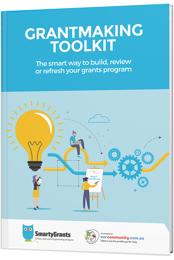 Grantmaking toolkit cover