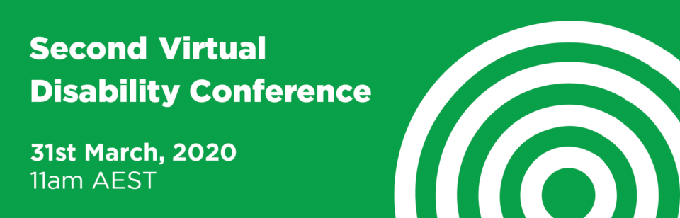 Second Virtual Disability Conference