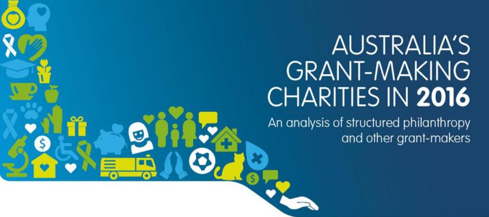 ACNC's grant study reveals big surprises